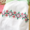 Winter Holly & Berries Towel