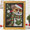 Corgi Christmas Caroler
