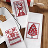 Scandinavian Christmas Towels