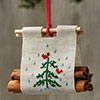 The Christmas Stitch -- Christmas Log Carrier ...