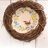 Spring Wren Wreath
