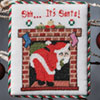 The Christmas Stitch -- Shh ... It's Santa!