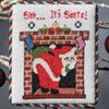 The Christmas Stitch -- Shh ... It's Santa!