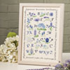 The Blue Flowers Sampler
