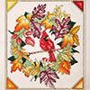 Fall Cardinal Wreath