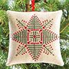 The Christmas Stitch -- Evergreen Star Ornament