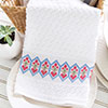 Hearts & Flowers Towel Band