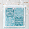 The Christmas Stitch -- Snowflake Quartet Ornament