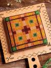 Autumn Plaid Hornbook