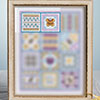 Butterflies & Bees -- Stitch Sampler: Part 1