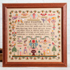 "The 1815 ""On Youth"" Reproduction Sampler"