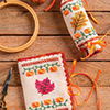 Pumpkins & Leaves Needle Set