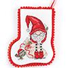 Jolly Old St. Nick -- Santa & Helper