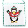 Christmas Critters -- Penguin Greetings