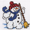 Snowmen Towel Duo