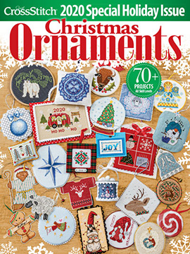 Just CrossStitch Ornaments 2020