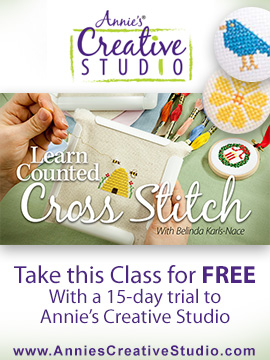 Learn Counted Cross Stitch ad
